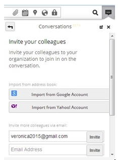 Hootsuite- import contact from Google and yahoo