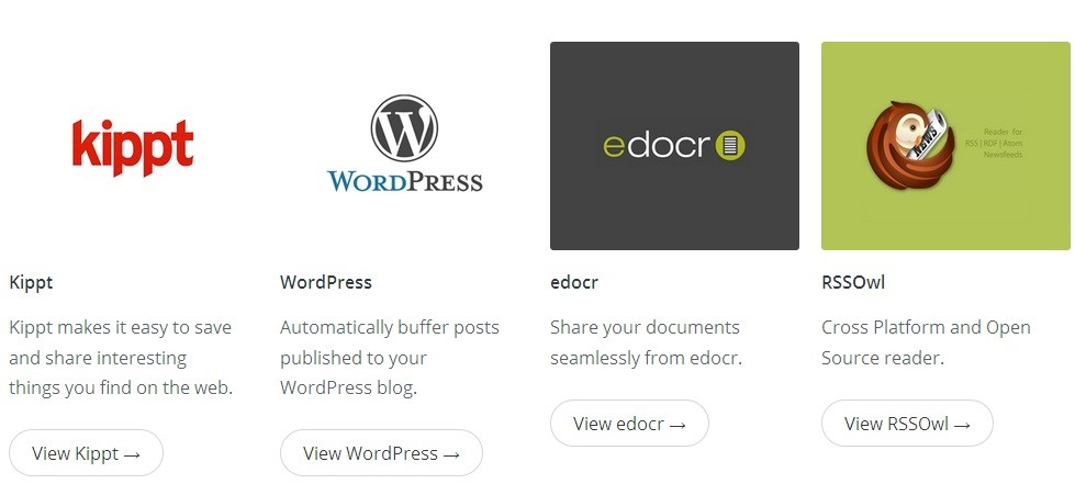 BUFFER- WORDPRESS