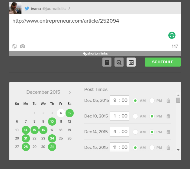 SPROUTSOCIAL- SCHEDULER-REPOSTING