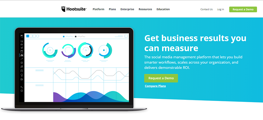 social media marketing and management dashboard