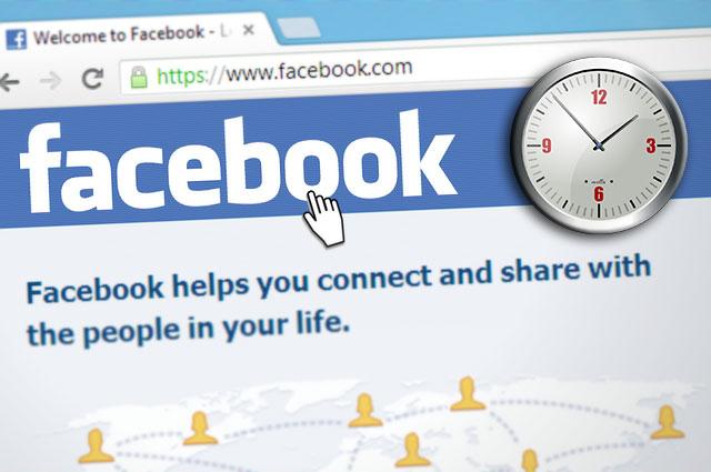facebook posting time populizr