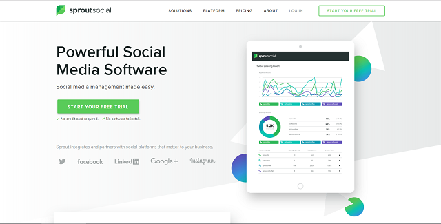 sprout social home | populizr vs sprout social