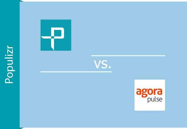 Populizr vs. Agorapulse