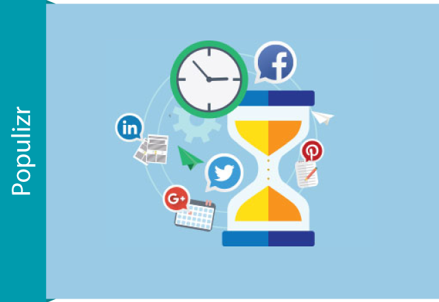 the best time for posting on social media networks