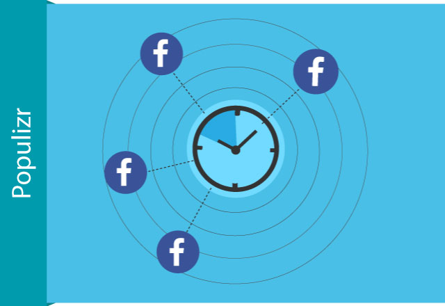 scheduling Facebook posts with Populizr