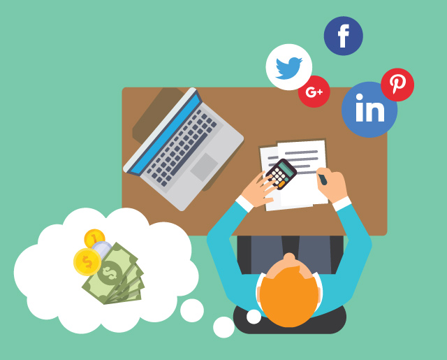 Considering budget for social media marketing