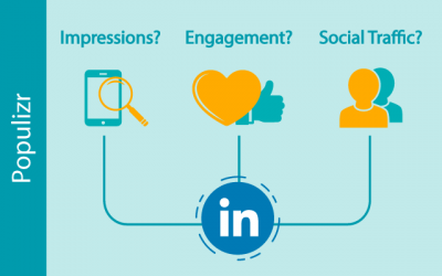Impressions Vs. Engagement Vs. Social Traffic – Which Matters The Most For Your Brand On LinkedIn