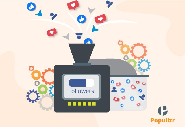 increase your facebook followers with Populizr social media automation tool