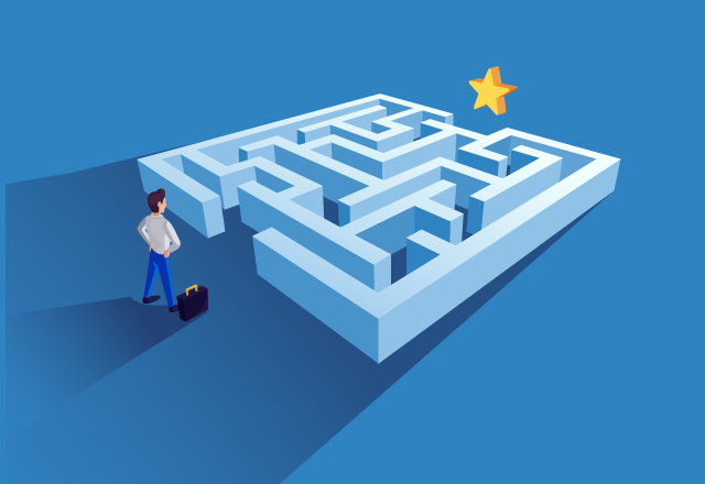 maze to success = created content for better business growth