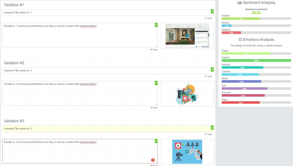 social media campaign builder interface in populizr